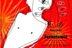 Postal Conversaciones con Pachacamac Alfredo Velarde copy